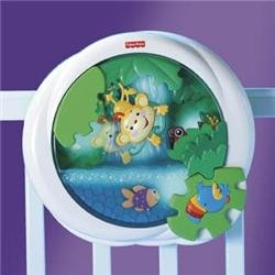 Fisher Price Rainforest Waterfall Peek-A-Boo Baby Soother Night Light | K3800 front-327884