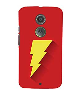 EPICCASE Flash Mobile Back Case Cover For Moto X 2nd Gen (Designer Case)