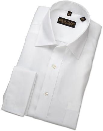 "Trump Mens Donald Trump French Cuff Dress Shirt, White, 14.5""/32-33"""