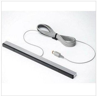 NEW Wired Infrared Ray Sensor Bar For Nintendo Wii