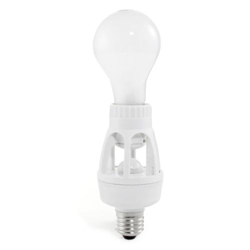 Smarthome Select 25125 Screw-In Motion Sensing Light Adapter, White