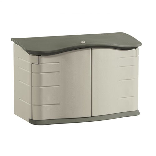 awardpedia   rubbermaid horizontal storage shed 32 cubic ft