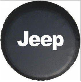 Moonet Jeep Wrangler Black Spare Tire Cover R16 size L (R16)