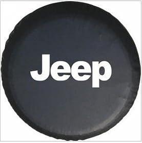 Moonet Jeep Wrangler Black Spare Tire Cover (R17)