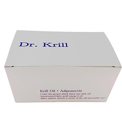 クリルオイルサプリメント Dr.Krill 90粒入り オメガ3脂肪酸.長寿ホルモン.アディポネクチン.DHA・EPA