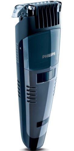 Philips QT4050 Turbovac Rechargeable Vacuum Beard Trimmer Plus With Contour Following Comb