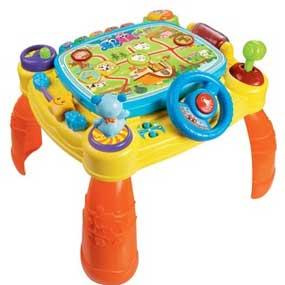 Amazon Com Vtech Idiscover App Activity Table Toy Toys