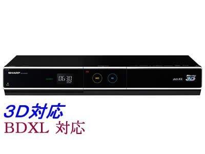 【Amazonの商品情報へ】SHARP AQUOS 3D対応ブルーレイディスクレコーダー HDD320GB BD-HDW63