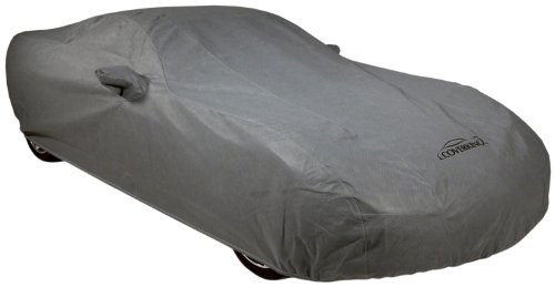 COVERKING CVC3O2GMD7125 CUSTOM VEHICLE COVER MOSOM PLUS GRAY CLASS 3 2007 - 2009 Mercedes-Benz E-Class (W211 body style), SEDAN ONLY, w/pocket for rear roof-mount antenna