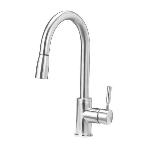 Blanco 441647 Sonoma Kitchen Faucet with Pull Down Spray, Small, Stainless Steel