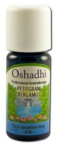 Oshadhi Petitgrain Bigarade Organic 10 ml Essential Oil Singles by Oshadhi