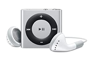 Apple iPod shuffle 2 GB Silver (4th Generation) (Discontinued by Manufacturer)