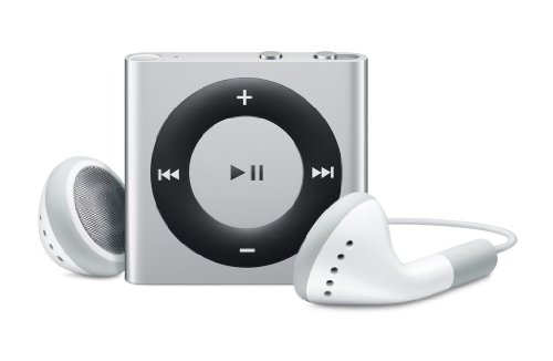 Apple iPod shuffle 2 GB Silver (4th Generation) NEWEST MODEL