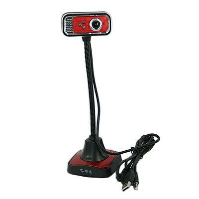 HDE ® Retro Usb Webcam W/ Flexible Neck