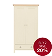 Padstow Double Wardrobe
