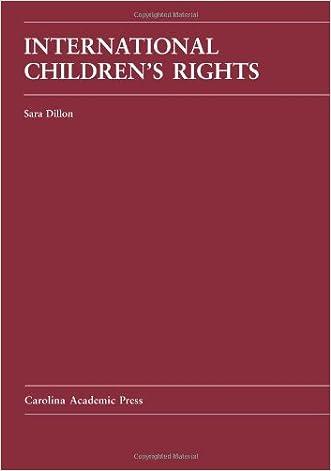 International Children's Rights (Law Casebook)