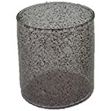 AKP Glass Decorative Candle Stands - 2.5 Inch X 2 Inch, Black