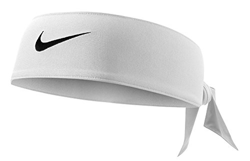 Nike Dri-Fit Head Tie 2.0 (One Size Fits Most, White/Black) (Football Helmets For Sale compare prices)
