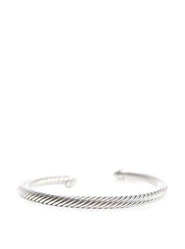 David Yurman Cable Classics Bracelet with Peridot & Diamonds