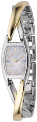 DKNY Women's NY4634 Twist Two-Tone Bracelet Watch