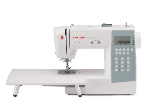 Singer 9340 Signature Computerized Sewing Machine With 340 Built-In Stitches, Extension Table & Bonus Accessories