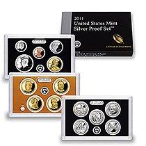 2011 U.S. Silver Proof Set Sv4