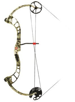 PSE Chaos One Compound Bow Mossy Oak Break - Up Infinity / Right Hand, 60#