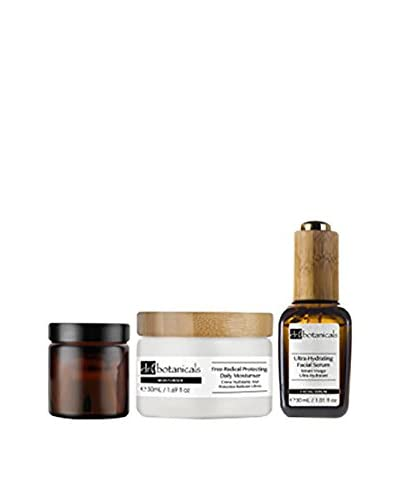 Dr Botanicals Kit Facial 3 Piezas Ultra-Hydrating+Free-Radical Protecting+Advanced Bio-Brightening