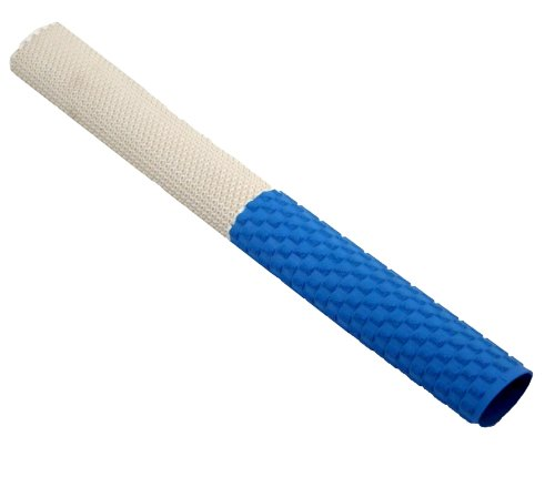 Upfront Opttium FX1 Cricket Bat Grip - White/Blue.