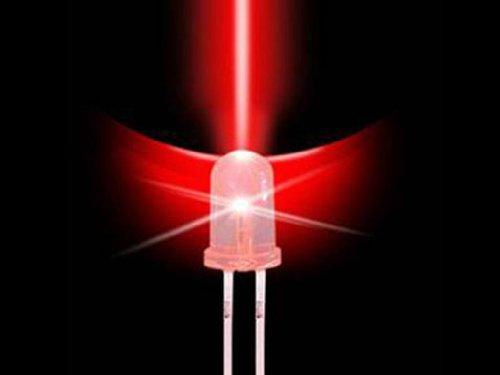 1.8Mm Led Bulb- Red (50 Pack)
