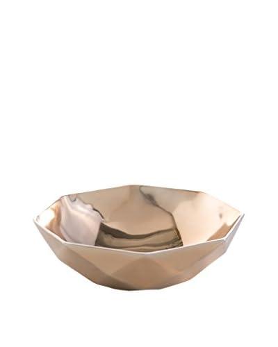Shiraleah Prism Shallow Bowl, Copper