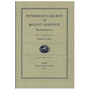Petrach's 'The Ascent Of Mount Ventoux - Rodney Lokaj
