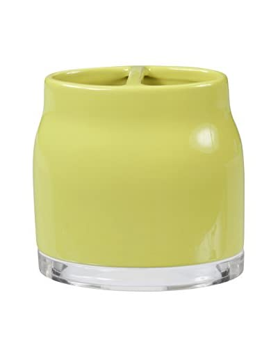 Creative Bath Gem Toothbrush Holder, Lime