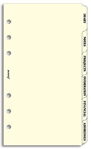 filofax-inserti-per-organizer-personale-6-schede-colore-crema