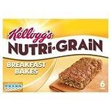 Kellogg's Nutri Grain Elevenses Golden Oat Bakes 6 X 50G
