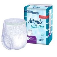 Attends Pull-On Underwear Super Plus Absorbency with Leakage Barriers - 20/ Pack, 4 ea