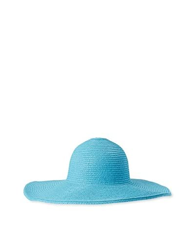 Magid Women's Paper Straw Floppy, Turquoise As You See