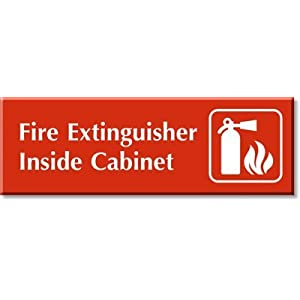 Fire Extinguisher Cabinet Replacement Cover - GEMPLER'S
