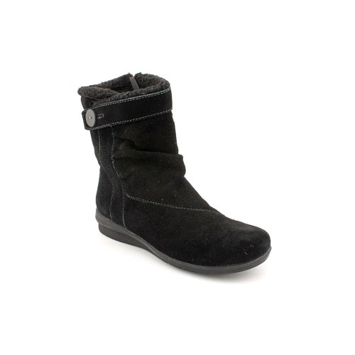 Clarks Anna Capitol Fashion Ankle Boots Black Womens