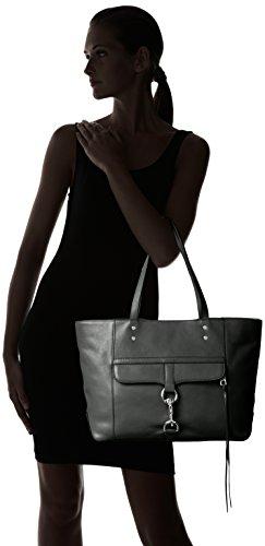 Rebecca Minkoff Palto Alto Brief 女式真皮手提包,3色可选图片