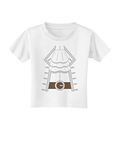 Pirate Captain Costume Silver Toddler T-Shirt