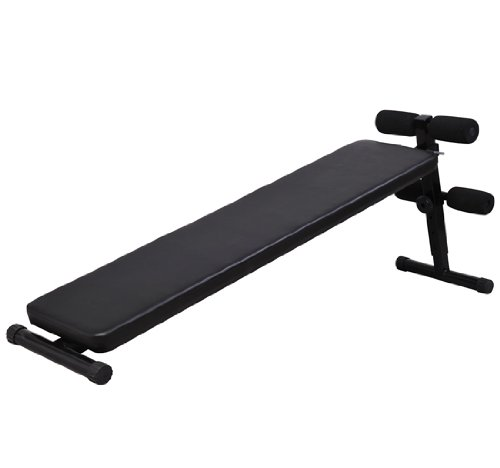Soozier Deluxe Portable Ab Decline Sit Up Bench - Black