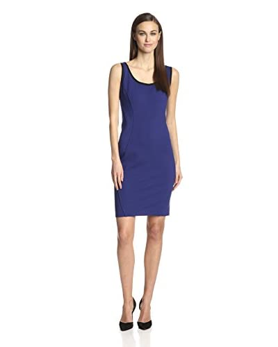 Zelda Women's Scoop Neck Ponte Dress