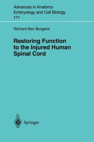 Restoring Function to the Injured Human Spinal Cord (Advances in Anatomy, Embryology and Cell Biology)