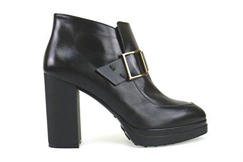 scarpe donna TOD'S 39 EU stivaletti nero pelle AK691