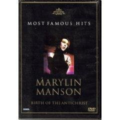 Most Famous Hits Marylin Manson - Birth Of The Antichrist