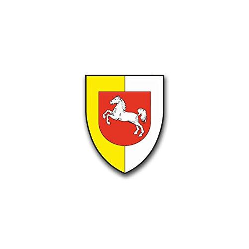 Aufkleber / Sticker - PzLehrBrig 9_Sticker Aufkleber Panzerlehrbrigade Heer Eingreifkräfte Munster Bundeswehr Wappen Abzeichen Emblem passend für VW Golf Polo GTI BMW 3er Mercedes Audi Opel Ford (7x5cm)#A1466