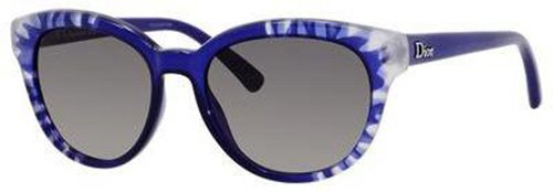 Christian Dior  Christian Dior Tiedye 2/S Sunglasses Flower Blue / Gray Gradient