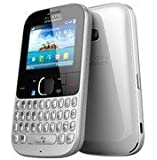 Alcatel Onetouch 3020 D Dual Sim QWERTY Mobile Phone Sim Free, Unlocked with Facebook Button (White)