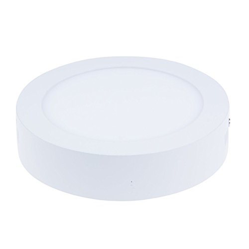 Nexium Cool White Round Surface Mounted Led Panel Light + Led Driver Ceiling Light 60Pcs Smd2835 High Light Intensity 12W Ac85-265V